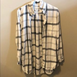 H & M Flannel Size US 10